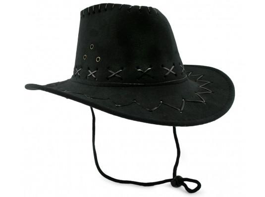Шляпа ковбоя детская черная купить в интернет магазине подарков ПраздникШоп