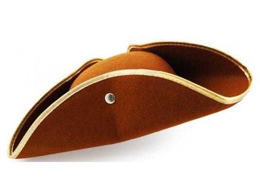 """Шляпа """"Треуголка"""" коричневая купить в интернет магазине подарков ПраздникШоп"""