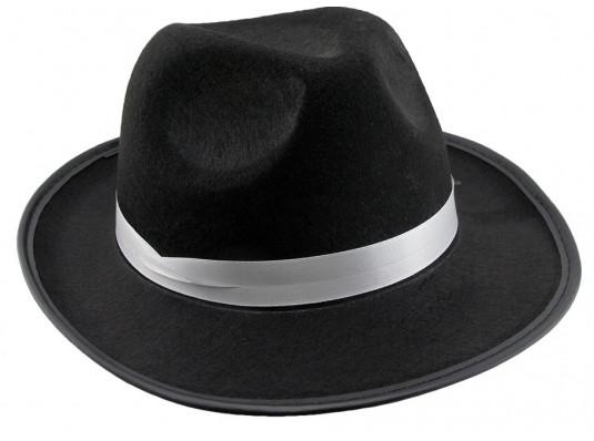Шляпа Мужская фетровая черная купить в интернет магазине подарков ПраздникШоп