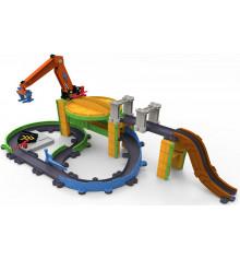 Игровой набор Грузовая станция с паровозиком Коко на батарейках купить в интернет магазине подарков ПраздникШоп