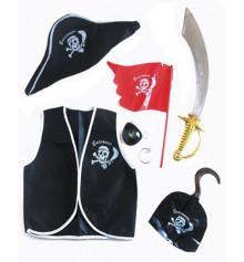 Набор Пирата 10 предметов купить в интернет магазине подарков ПраздникШоп