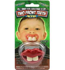 Соска с зубами (2 зуба) купить в интернет магазине подарков ПраздникШоп