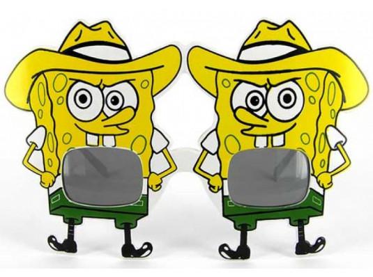 """Очки - party """"Sponge Bob"""" купить в интернет магазине подарков ПраздникШоп"""