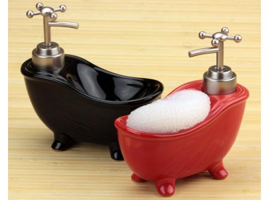 Ванна - дозатор с мочалкой купить в интернет магазине подарков ПраздникШоп