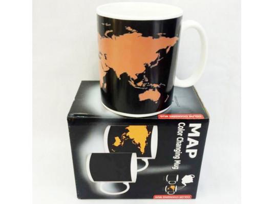 """Чашка """"Карта мира"""" купить в интернет магазине подарков ПраздникШоп"""