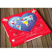 """Шоколадный набор XL """"Люблю"""" купить в интернет магазине подарков ПраздникШоп"""