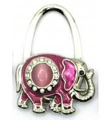 """Вешалка для женской сумочки """"Слон-Замок"""" купить в интернет магазине подарков ПраздникШоп"""