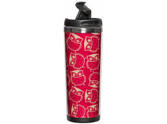 """Термокружка """"Розовые совы"""" купить в интернет магазине подарков ПраздникШоп"""