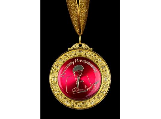 """Медаль deluxe """"Лучшему начальнику"""" купить в интернет магазине подарков ПраздникШоп"""