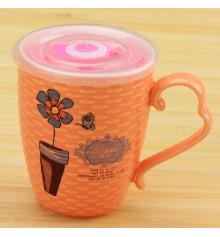 """Чашка заварочная """"Цветок с таймером"""" купить в интернет магазине подарков ПраздникШоп"""