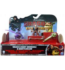 Викинг Валка с малышами Змеевиком и Громмелем купить в интернет магазине подарков ПраздникШоп