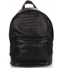 Рюкзак PU-LEATHER BACKPACKS чёрный купить в интернет магазине подарков ПраздникШоп