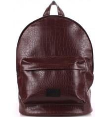 Рюкзак PU-LEATHER BACKPACKS коричневый купить в интернет магазине подарков ПраздникШоп