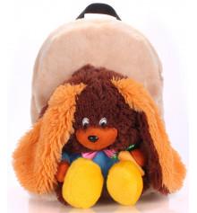 Детский рюкзак KID'S BACKPACKS кролик коричневый купить в интернет магазине подарков ПраздникШоп