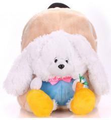 Детский рюкзак KID'S BACKPACKS кролик белый купить в интернет магазине подарков ПраздникШоп