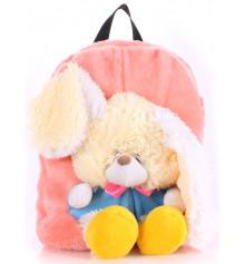 Детский рюкзак KID'S BACKPACKS кролик розовый купить в интернет магазине подарков ПраздникШоп