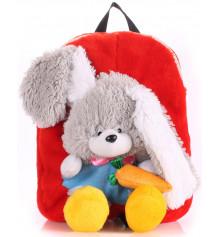 Детский рюкзак KID'S BACKPACKS кролик красный купить в интернет магазине подарков ПраздникШоп