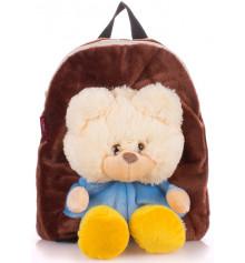 Детский рюкзак KID'S BACKPACKS мишка коричневый купить в интернет магазине подарков ПраздникШоп