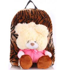 Детский рюкзак KID'S BACKPACKS мишка тигровый купить в интернет магазине подарков ПраздникШоп
