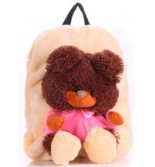 Детский рюкзак KID'S BACKPACKS мишка абрикосовый купить в интернет магазине подарков ПраздникШоп