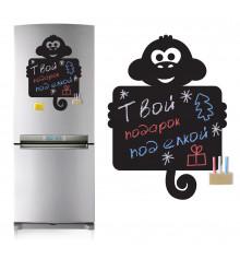 Магнитная доска на холодильник Обезьянка купить в интернет магазине подарков ПраздникШоп