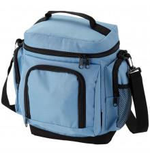Термосумка с карманами голубая купить в интернет магазине подарков ПраздникШоп