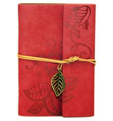Блокнот 'Nature' La Femme Edition красный купить в интернет магазине подарков ПраздникШоп