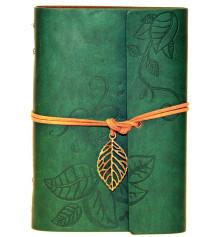 Блокнот 'Nature' La Femme Edition зелёный купить в интернет магазине подарков ПраздникШоп