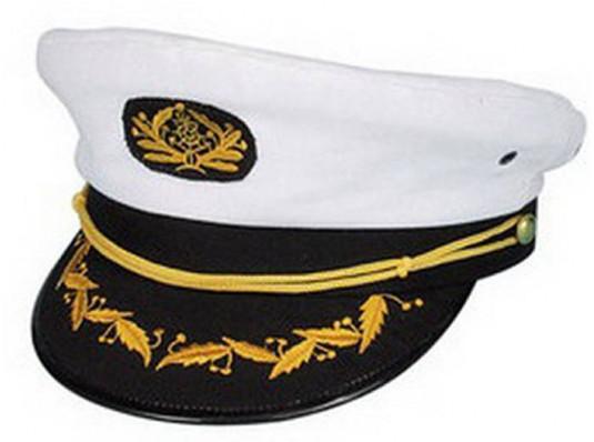 Фуражка Капитана купить в интернет магазине подарков ПраздникШоп