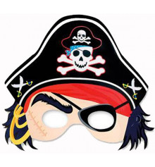 Полумаска пират купить в интернет магазине подарков ПраздникШоп