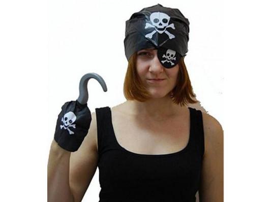 """Набор """"Пиратский крюк"""" 4 в 1 купить в интернет магазине подарков ПраздникШоп"""