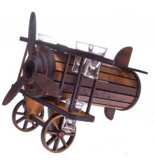 самолет с рюмками купить в интернет магазине подарков ПраздникШоп
