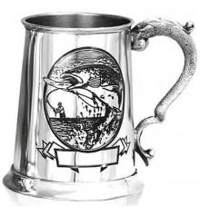 """Кружка для пива (танкард) """"Рыбалка"""" купить в интернет магазине подарков ПраздникШоп"""