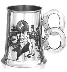 """Кружка для пива (танкард) """"Полиция"""" купить в интернет магазине подарков ПраздникШоп"""