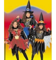 Карнавальный костюм Ведьмочка, Чертенок, Колдунья 3 в 1 купить в интернет магазине подарков ПраздникШоп