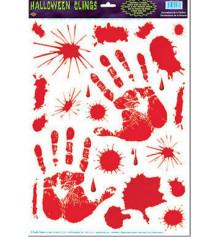 """Наклейки """"Кровавые Руки"""" купить в интернет магазине подарков ПраздникШоп"""