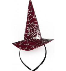 Шляпка Ведьмочки с паутиной купить в интернет магазине подарков ПраздникШоп