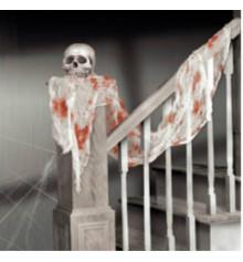 Кровавая ткань для украшения купить в интернет магазине подарков ПраздникШоп