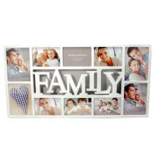 ФОТОРАМКИ FAMILY. 10 ФОТО купить в интернет магазине подарков ПраздникШоп