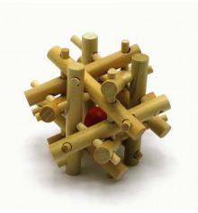 Головоломка деревянная №3 купить в интернет магазине подарков ПраздникШоп
