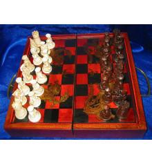 Шахматы антик купить в интернет магазине подарков ПраздникШоп