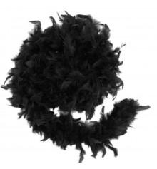 Боа из перьев, черное 50 г. купить в интернет магазине подарков ПраздникШоп