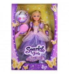 Принцесса Рапунцель в фиолетовом платье (25 см) купить в интернет магазине подарков ПраздникШоп