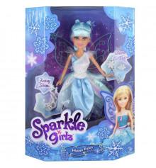 Ледяная фея Эвелин в бело-голубом платье с аксессуарами (25 см) купить в интернет магазине подарков ПраздникШоп