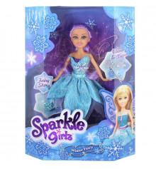 Ледяная фея Хлоя в голубом платье с аксессуарами (25 см) купить в интернет магазине подарков ПраздникШоп