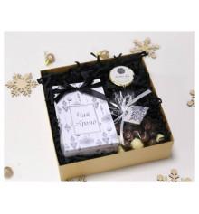 """Подарунковий набір """"Black & White"""" купить в интернет магазине подарков ПраздникШоп"""