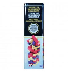 Настольная игра «Дженга с цветными брусочками» (в жестяной коробке) купить в интернет магазине подарков ПраздникШоп