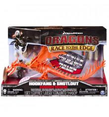 Как приручить дракона: дракон Кривоклык в броне с всадником Сморкалой купить в интернет магазине подарков ПраздникШоп