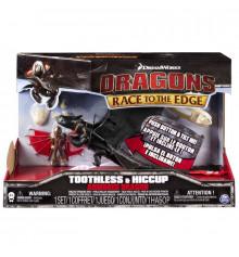 Как приручить дракона: дракон Беззубик в броне с всадником Иккингом купить в интернет магазине подарков ПраздникШоп