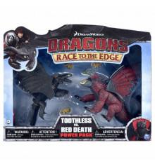 Как приручить дракона: набор из двух драконов «Битва Беззубика с красной смертью» купить в интернет магазине подарков ПраздникШоп